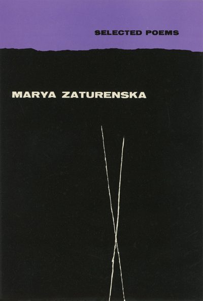 first edition cover of Selected Poems by Marya Zaturenska