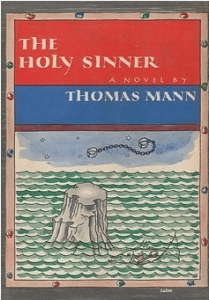 THE HOLY SINNER By Thomas Mann book cover, 1952