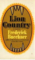 cover of _Lion Country by Frederick Buechner