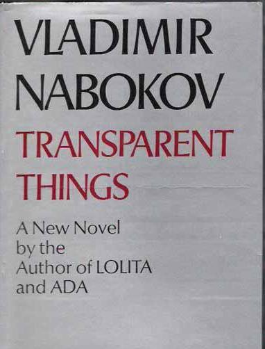 cover of Transparent Things by Vladimir Nabokov