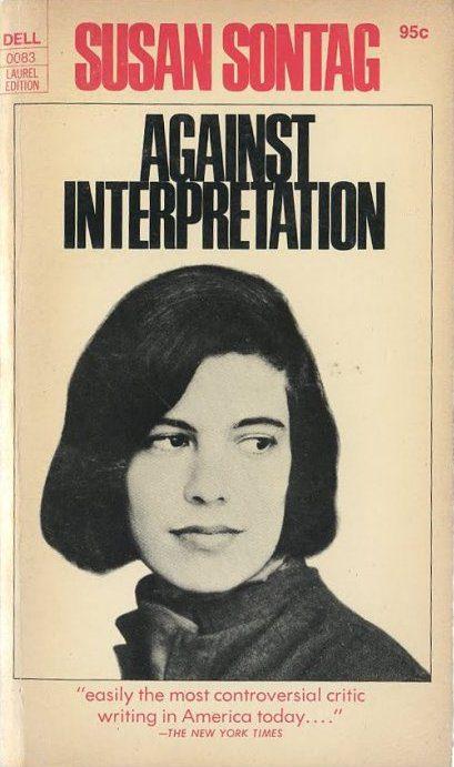 Against Interpretation by Susan Sontag book cover