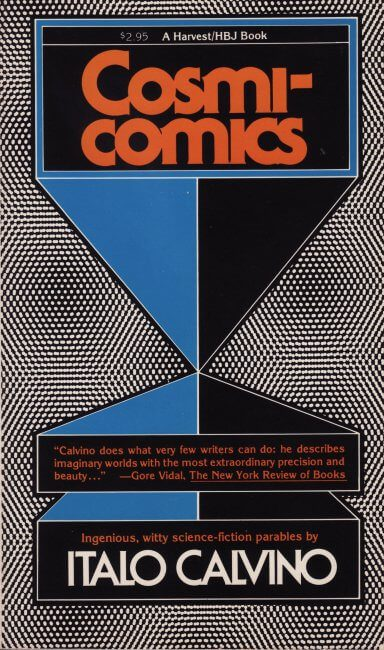 Calvino's Cosmicomics translated by William Weaver book cover