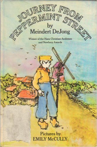 Journey from Peppermint Street by Meindert De Jong book cover