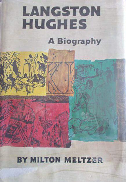 Langston Hughes by Milton Meltzer book cover