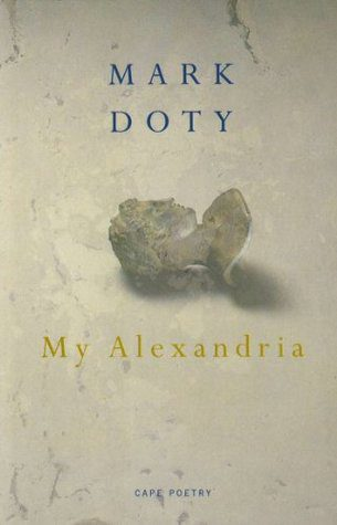 My Alexandria by Mark Doty book cover