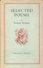 Selected Poems by Richard Eberhart book cover