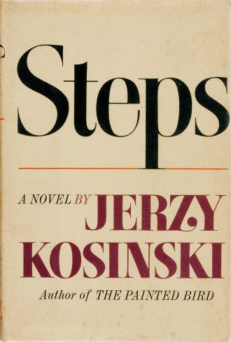 Steps by Jerzy Kosinski book cover