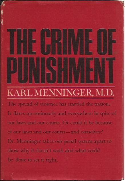 The Crime of Punishment by Karl Menninger book cover