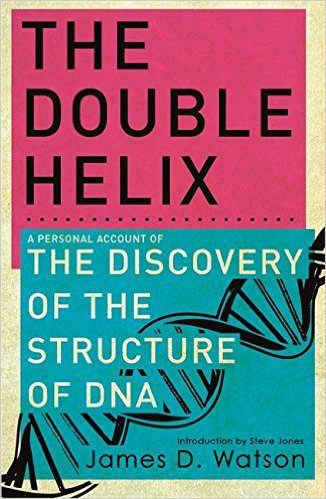 The Double Helix James D Watson book cover