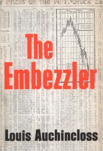 The Embezzler by Louis Auchincloss book cover