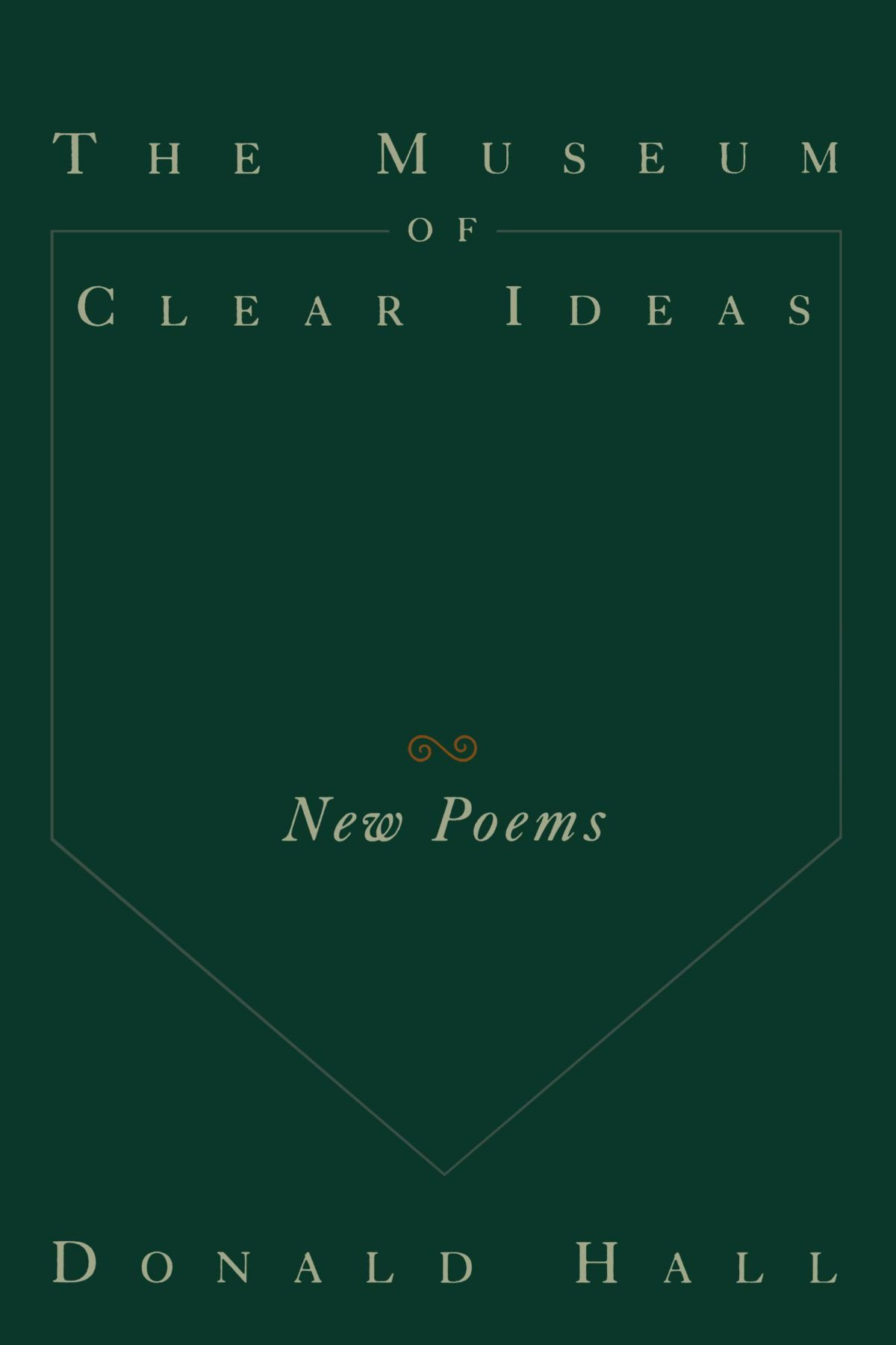 The Museum of Clear Ideas by Donald hall book cover