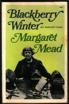 cover of Blackberry Winter My Earlier Years by Margaret Mead