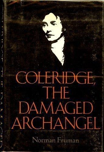 cover of Coleridge, The Damaged Archangel by Norman Fruman