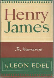 cover of Henry James, Vol. V The Master, 1901-1916 by Leon Edel