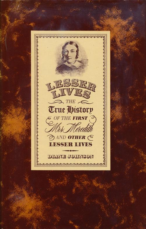 cover of Lesser Lives by Diane Johnson