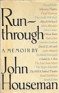 cover of Run-Through by John Houseman