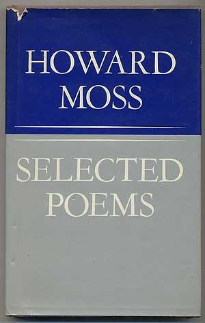 cover of Selected Poems by Howard Moss