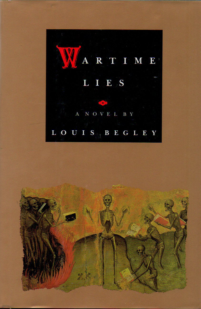 wartime lies by louis begley book cover