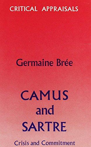 cover of Camus and Sartre by Germaine Bree