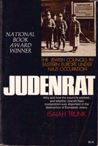 cover of Judenrat by Isaiah Trunk