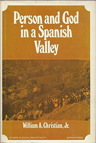 cover of Person and God in a Spanish Valley by William A Christian Jr