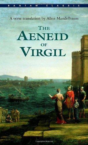 cover of The Aeneid of Virgil by Allen Mandelbaum
