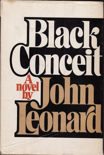cover of _Black Conceit by John Leonard