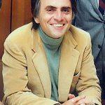 photo of Carl Sagan in 1980