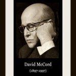 photo of David McCord