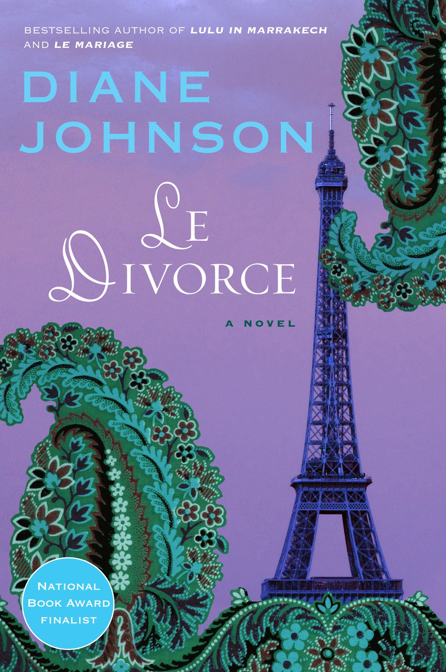 Le Divorce by diane johnson book cover