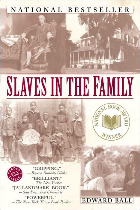 Slaves in the Family by edward Ball book cover