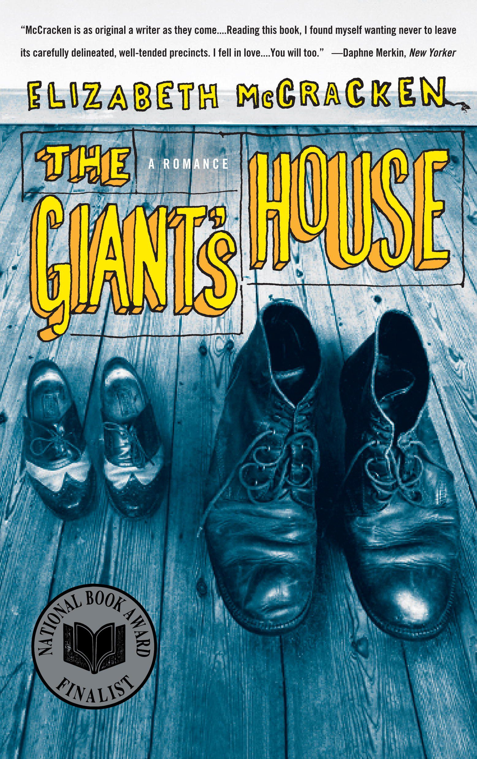 The Giant's House by Elizabeth McCracken book cover