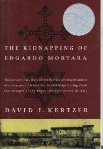 The Kidnapping of Edgardo Mortara book cover