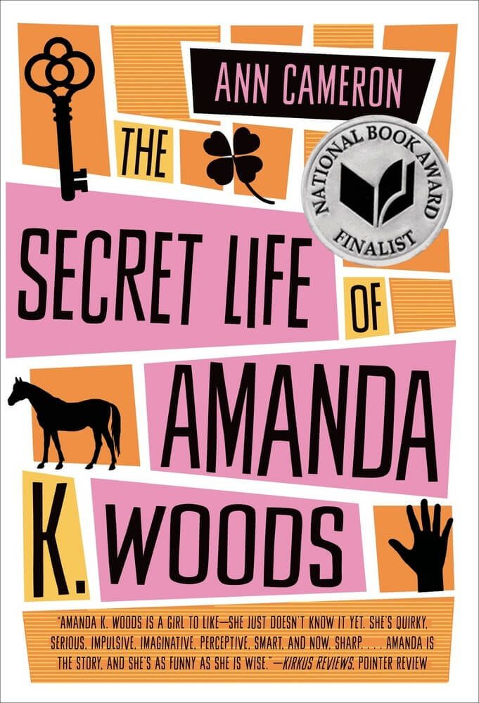 The Secret Life of Amanda K. Woods by ann cameron book cover