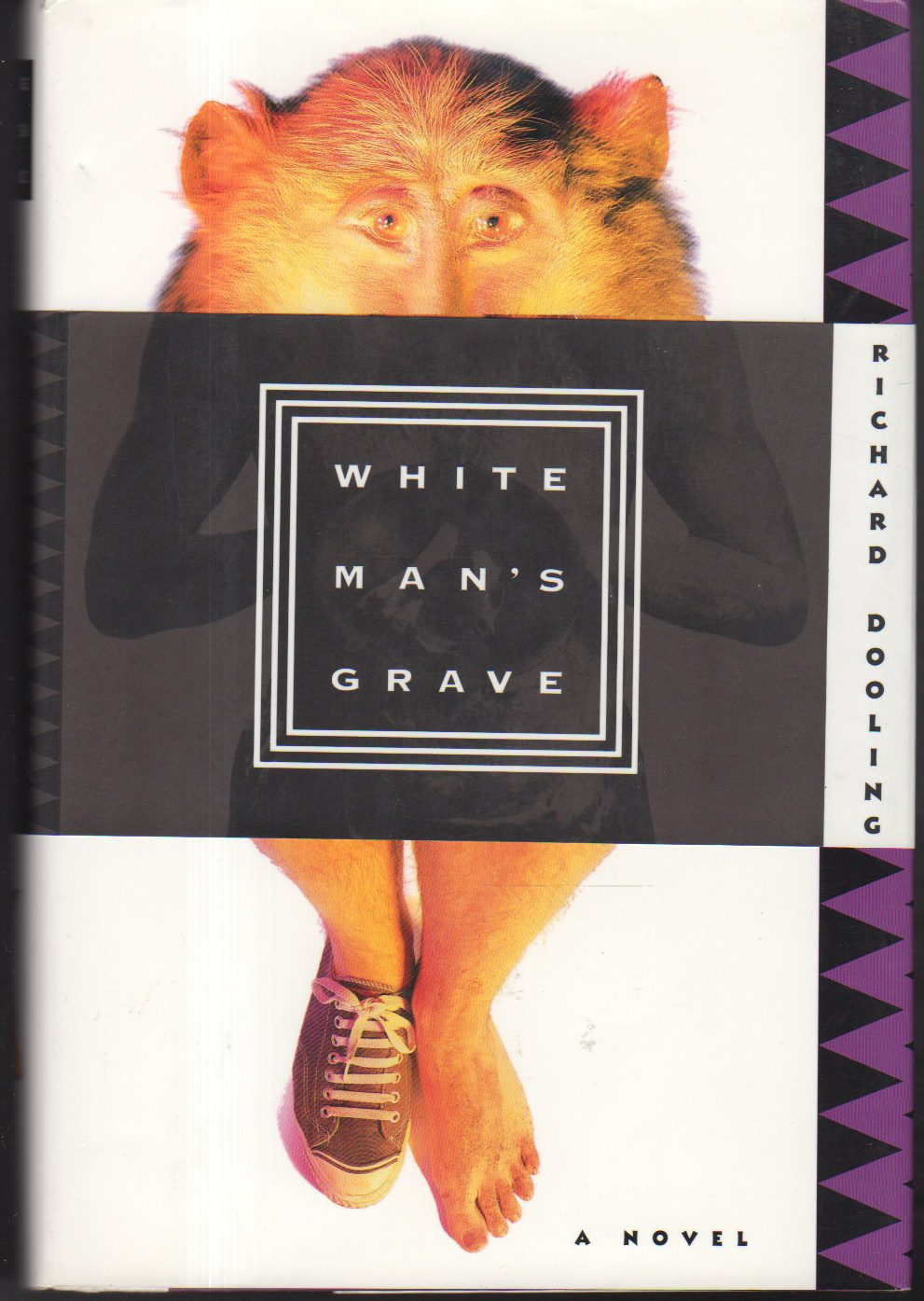 White Man's Grave by Richard Dooling book cover