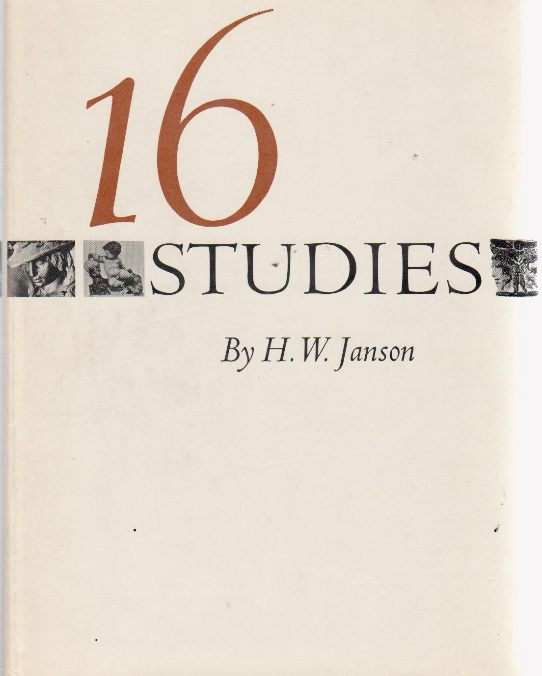 cover of 16 Studies by H W Janson