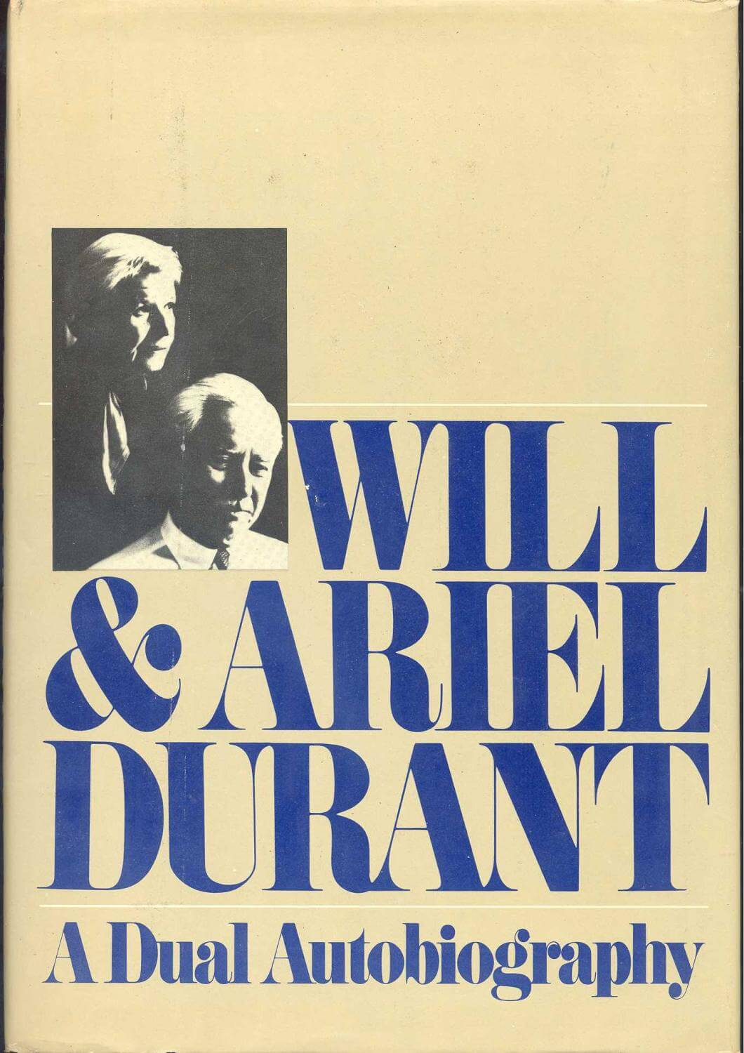cover of A Dual Autobiography by Alice and Will Durant