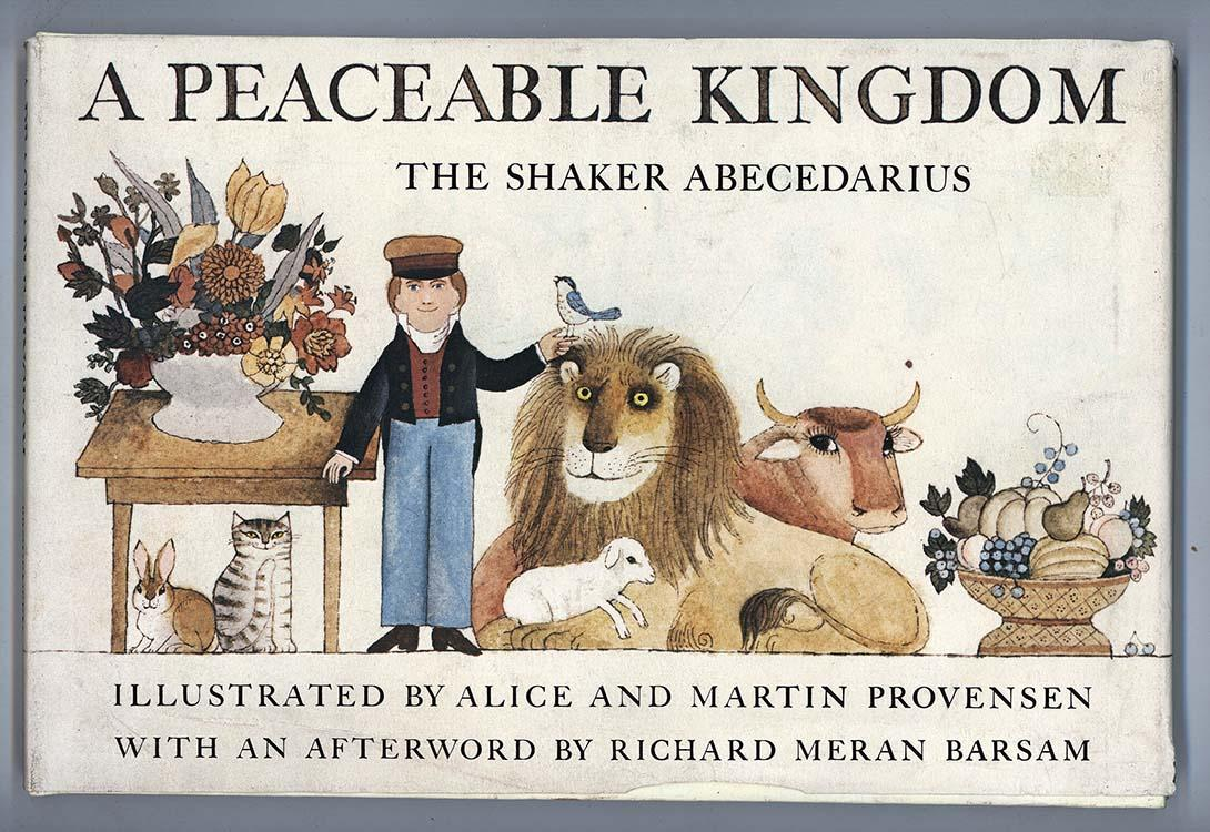 cover of A Peaceable Kingdom by Alice and Martin Provensen