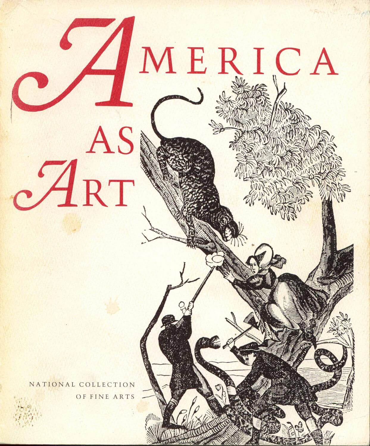 cover of America as Art by Joshua C Taylor