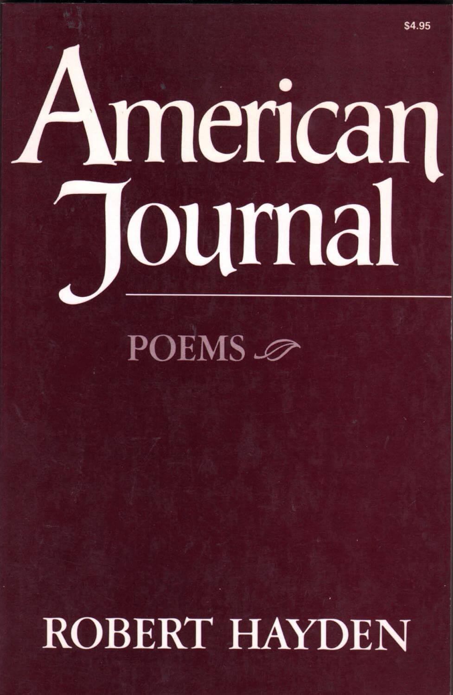 cover of American Journal by Robert Hayden