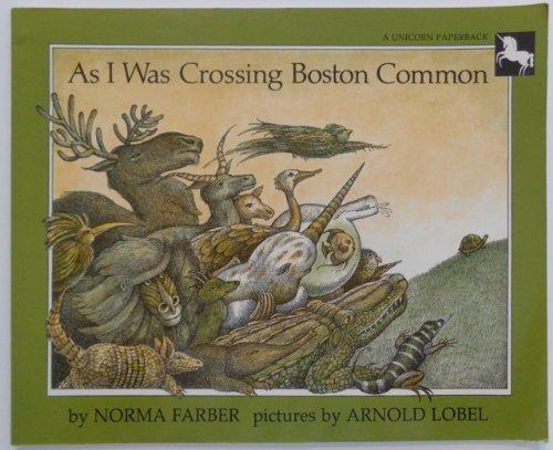 cover of As I Was Crossing Boston Common by Norma Faber
