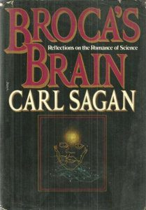 cover of Brocas Brain by Carl Sagan