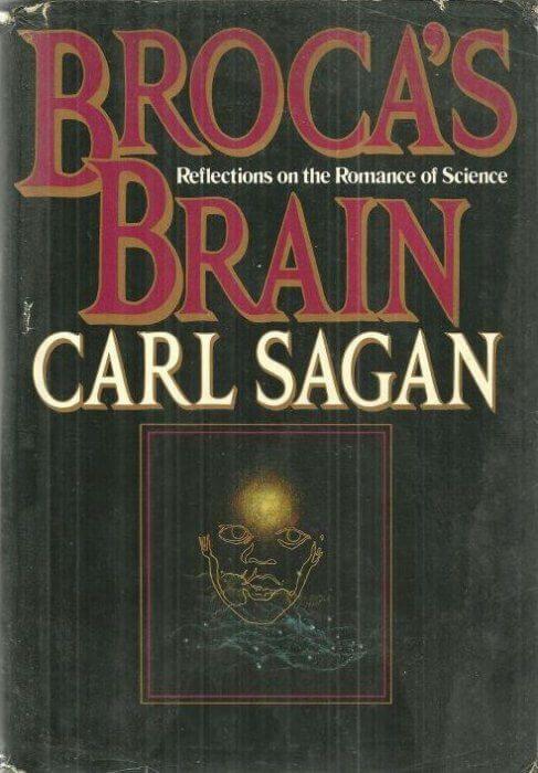 cover of Brocas Brain by Carl Sagan