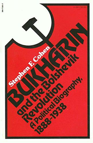 cover of Bukharin and the Bolshevik Revolution by Stephen F Cohen