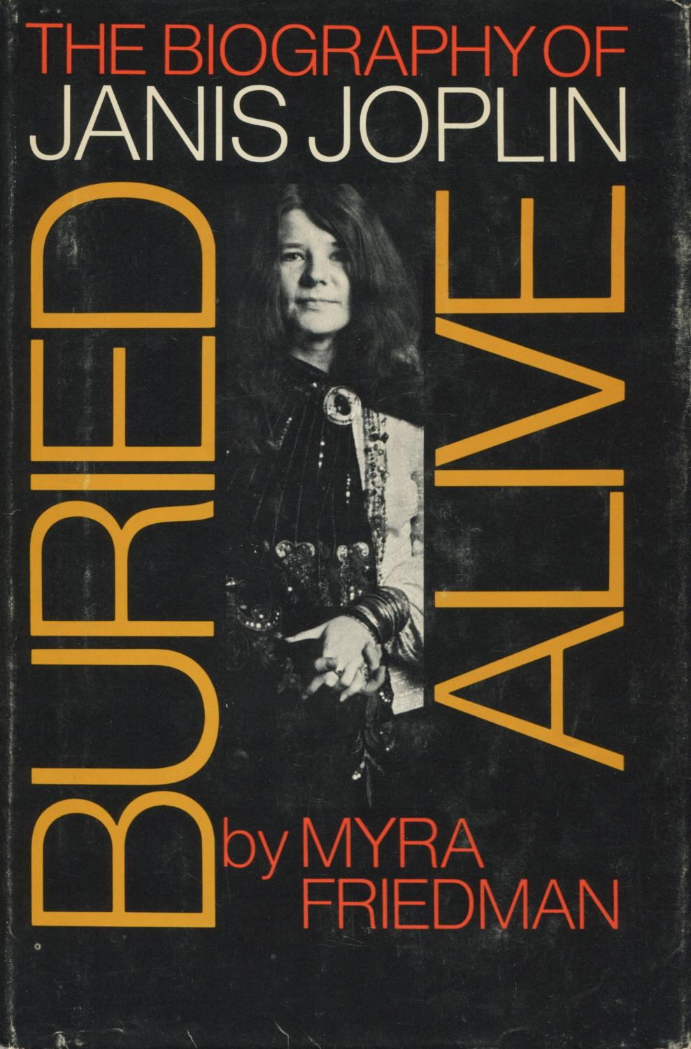 cover of Buried Alive The Biography of Janis Joplin by Myra Friedman