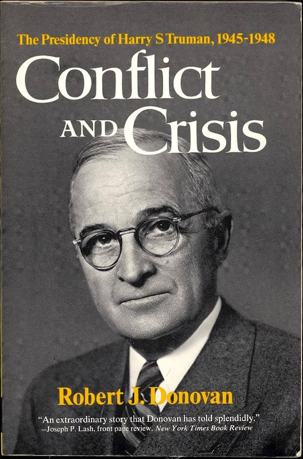 cover of Conflict and Crisis by Rober J Donovan