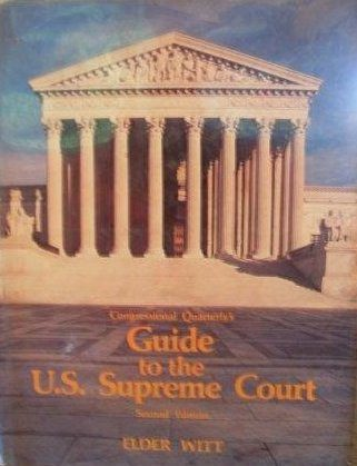 cover of Congressional Quarterly's Guide to the US Supreme Court by Elder Witt