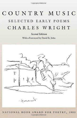 cover of Country Music Selected Early Poems by Charles Wright