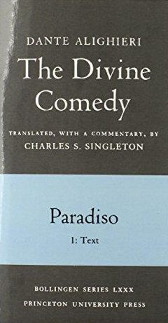 cover of Dante's The Divine Comedy Paradiso Vols I & II translated by Charles S Singleton