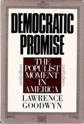 cover of Democratic Promise by Lawrence Goodwyn